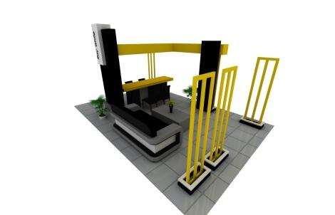 Pembuatan Booth display pekanbaru, jasa pembuatan booth pekanbaru