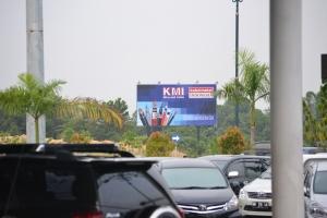 Billboard di Bandara Pekabaru