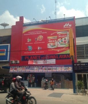 cover building Pekanbaru, neon box di pekanbaru, jasa advertising di pekanbaru, addvertising di pekanbaru, signage di pekanbaru, buat neon box di pekanbaru