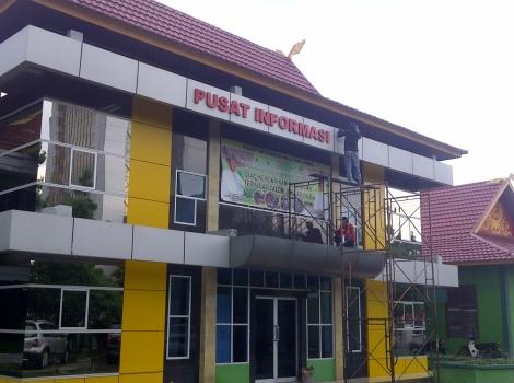 Letter Boks pekanbaru, buat letter box di pekanbaru, letter box murah di pekanbaru, buat tulisan toko di pekanbaru