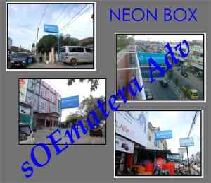 neox box pekanabru, pasang neon box di pekanbaru, jasa neon box di pekanbaru, jasa neon box di sumatera,