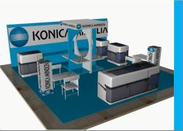 Booth Pameran Pekanbaru, Produksi Booth Pameran Pekanbaru, Rak Display Produk, produksi Rak display
