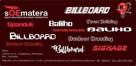 Baliho Pekanbaru, Avertising pekanbaru, Billboard Pekanbaru