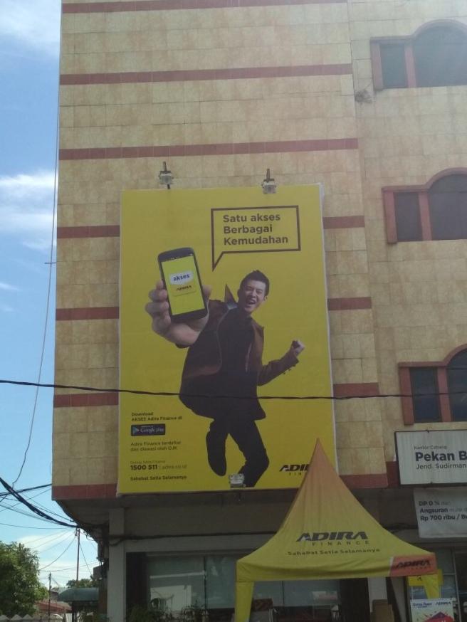 Advertising Pekanbaru, Adira Pekanbaru, Papan Nama Toko Pekanbaru, Cover Buildimng Pekanbaru